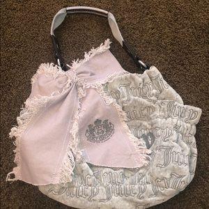 Grey Juicy Couture handbag